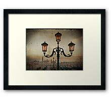 Venise after rain Framed Print