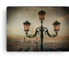 Venise after rain Canvas Print