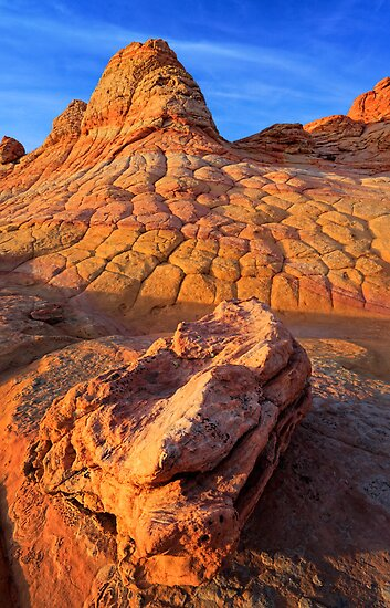 Checkerboard Butte by Inge Johnsson