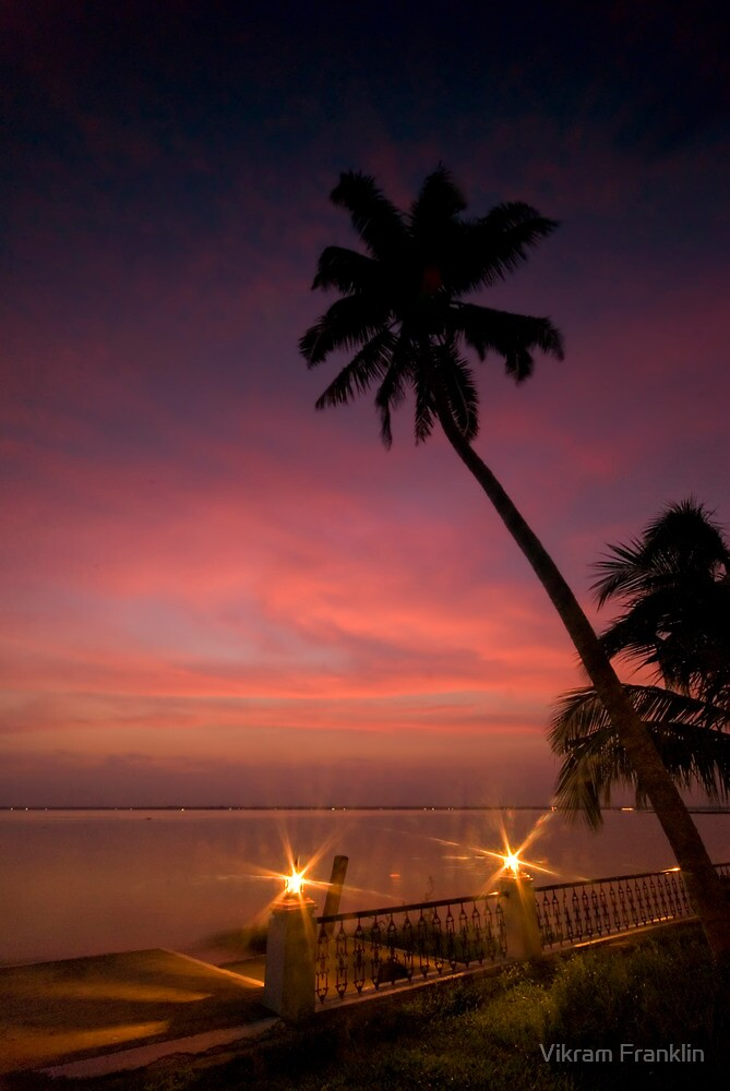Vembanad Sunset by Vikram Franklin