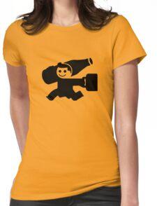Little Man Womens Fitted T-Shirt