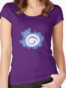 Fleur de Eyeball Women's Fitted Scoop T-Shirt