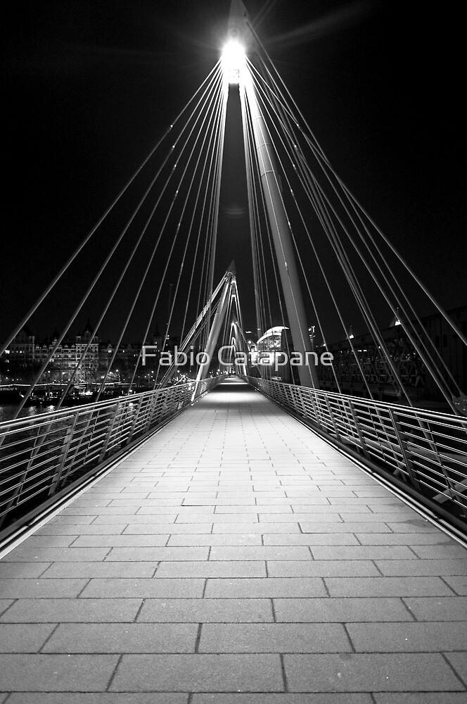 Pedestrian Bridge, Embankment, London by Fabio Catapane