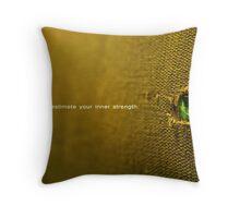 inner strength Throw Pillow
