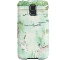 Sketching in the Game Reserve - Springbuck Samsung Galaxy Case/Skin