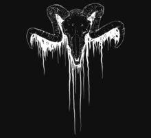 Satan's Gored Up Chum (White) by Pepsidesk