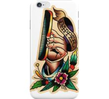 Barber 25 iPhone Case/Skin