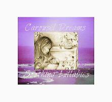Vintage Carousel Dreams Purple Ocean & Sky Large Unisex T-Shirt