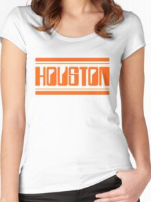 Houston Rollerball Women's Fitted Scoop T-Shirt