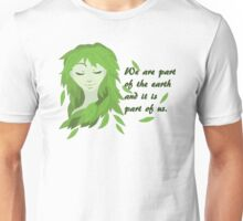 Mother Earth (Eyes Closed) Unisex T-Shirt