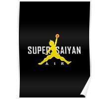 Air Super Saiyan Goku Poster