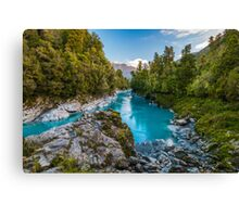 Blue Diamond Canvas Print