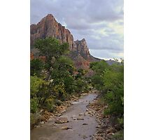 The Watchman - Zion National Park Photographic Print