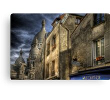 Montmartre, Paris Canvas Print