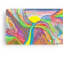 Pablo's Miraculous Sunrise  Canvas Print