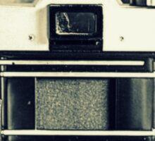 Camera And Film Sticker