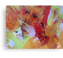 Emotions in Color Canvas Print