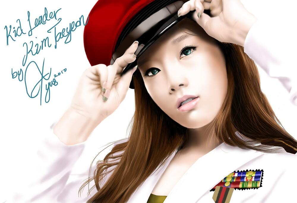 snsd kim taeyeon by blastfaizu2