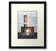 """Painting """"Condominium"""" Framed Print"""