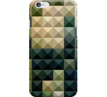Castleton Green Abstract Low Polygon Background iPhone Case/Skin