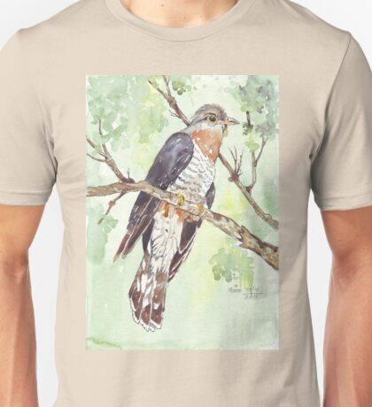 Red-chested Cuckoo (Piet-My-Vrou) Unisex T-Shirt