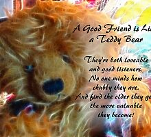 Friends are like teddy bears by vigor