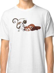 Momo petting Pabu Classic T-Shirt