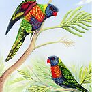 PAINTED BIRDS by Linda Callaghan