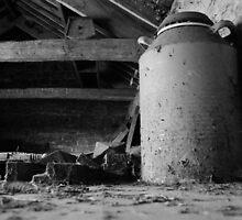 Old Milk Container by Derek McMorrine
