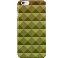 Mignonette Green Abstract Low Polygon Background iPhone Case/Skin