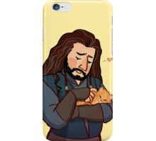 Thorin and Kitten iPhone Case/Skin