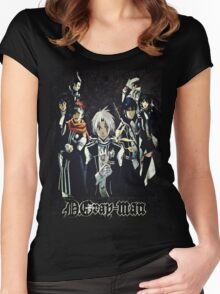D. Gray Man - Group Women's Fitted Scoop T-Shirt