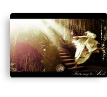 Stairway to Abode Canvas Print