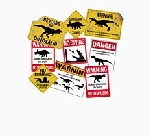 Dinosaur Caution Signs T-Shirt