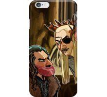 Meatbeard and Pirate Elf iPhone Case/Skin