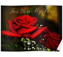 For You My Love Poster