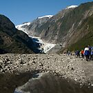 The walk to Franz Josef by Matthew Walters