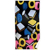 。◕‿◕。 ☀ ツ Mini Licorice Allsorts (Old Fashioned Candy) iPhone Case,Pillows,tote bag, books ect 。◕‿◕。 ☀ ツ Poster