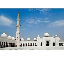 Sheikh Zayed Mosque Photographic Print