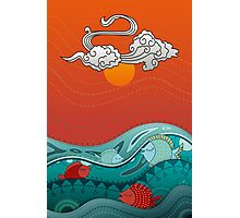 Fish Float Photographic Print