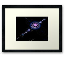 Jules of the Line Framed Print