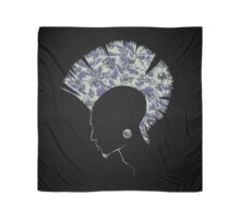 Quilted Punk - Purple Scarf