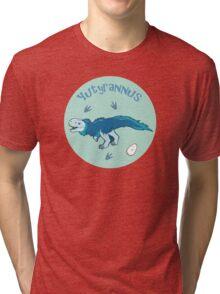 Cute Yutyrannus Tri-blend T-Shirt