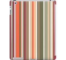 Retro Stripes Pattern iPad Case/Skin