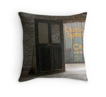 Cleveland CityScape 2010-18 Throw Pillow