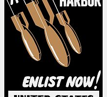 Remember Pearl Harbor Enlist Now -- Coast Guard by warishellstore