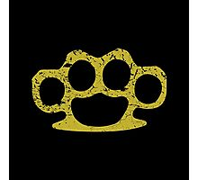 Brass Knuckles Photographic Print