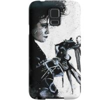 Scissorhands Splatter Samsung Galaxy Case/Skin