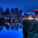 Philadelphia Skyline at Sunrise by StudioEleven