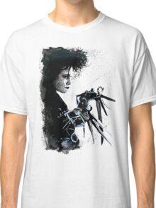 Scissorhands Splatter Classic T-Shirt